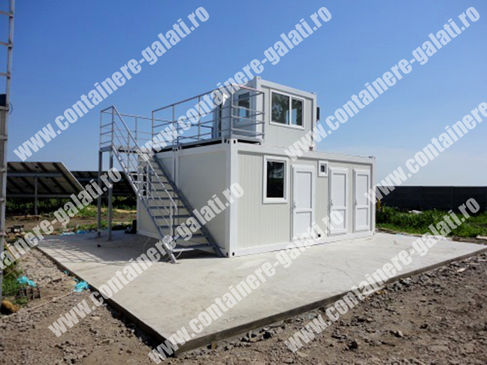 container metalic pret Teleorman