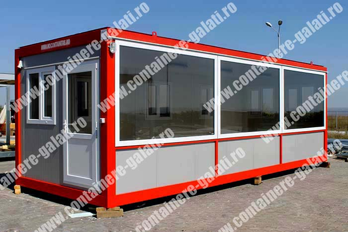 pret container metalic Teleorman